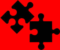 Jigsaw Pieces unfortunately left over after the Ji