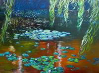 Monet's Lilly Pond