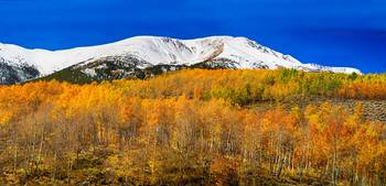Colorado Rocky Mountain Independence Autumn Pano 2