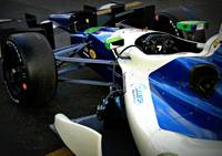 De Silvestro's car Grand Prix of St. Pete 2013