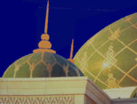 Sultan Qaboos Grand Mosque in Muscat Oman_Painting