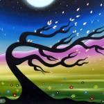 """windswept tree"" by artnotnames"