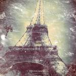 """Eiffel Tower, Daguerreotype-like treatment"" by Linde"