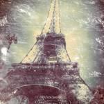 """Eiffel Tower, Daguerreotype-like treatment"" by Linde"