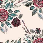 """Newdeco Bloom Pattern"" by MaryDolan"