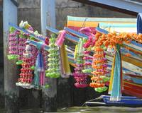 Decoration on Long Tail Boats, Thailand
