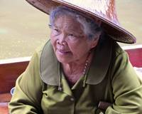 Elderly Thai Woman