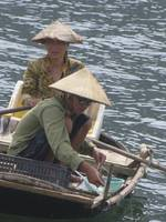 Vietnamese Women Fishing