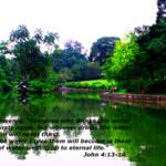 """John 4:13-14, Garden Singapore"" by sghomedeco"