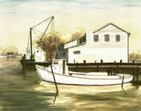 FINE ART TRADITIONAL OIL PAINTING SOLOMONS ISLAND