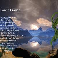The Lord's Prayer Digital Painting Art Prints & Posters by Heinz Mielke