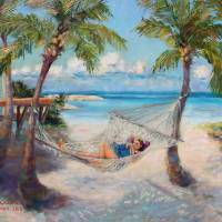 Carter at Cat Cay Art Prints & Posters by Melanie Chambers Hartman