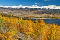 Twin Lakes Colorado Autumn Landscape