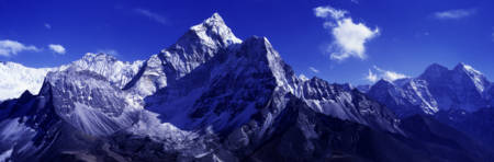 North Side Ama Dablam Khumba Region Nepal