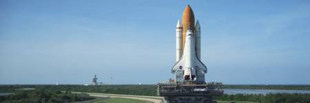 Rollout of Space Shuttle Discovery NASA Kennedy Sp