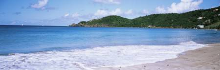 Beach at Anderson Pont Brewers Bay Tortola British