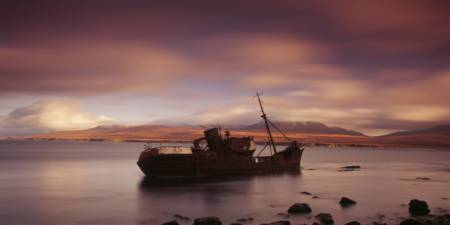 Shipwreck Isle of Islay Scotland