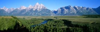 Snake River and Tetons Grand Teton National Park W