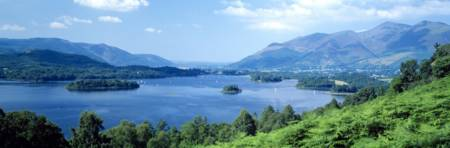 Derwentwater Cumbria The Lake District England