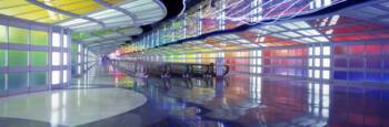 United Airlines Terminal Passageway O'Hare Airport
