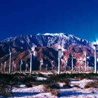 """Wind Turbines Palm Springs CA"" by Panoramic Images"