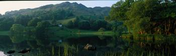 Loughrigg Tarn The Lake District England