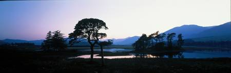 Lake Tulla Highlands Scotland