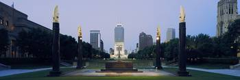 War memorial in a city Cenotaph Square Indianapol