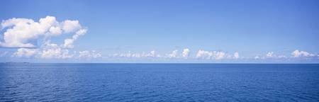 Panoramic view of the ocean