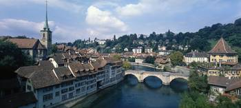 Aare River Bern Switzerland