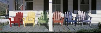 Adirondack Chairs Porch Plymouth VT