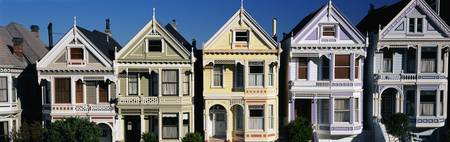 Victorian Houses San Francisco CA