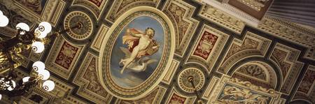 Ceiling Detail Interior Semper Opera House Dresde