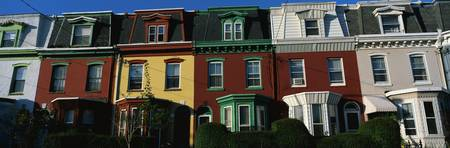 Row Houses Philadelphia PA