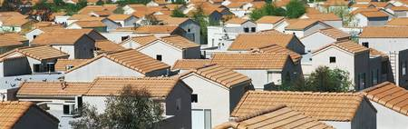 Housing Development with Spanish Tile Roofs
