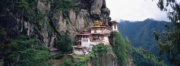 Monastery on a cliff