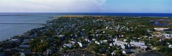Aerial Provincetown MA
