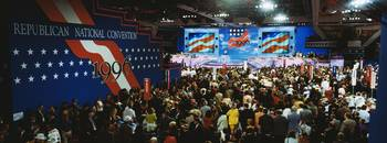 Crowds at the Republican National Convention of 1