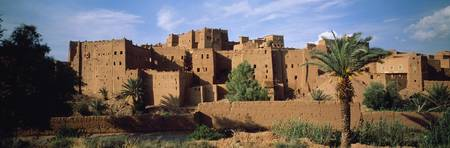 Buildings in a village Ait Benhaddou Ouarzazate M