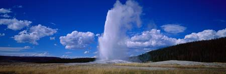 Old Faithful Yellowstone National Park WY