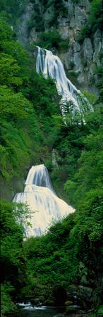 Waterfalls Taisetsuzan National Park Japan