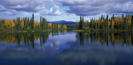 Dragon Lake Yukon Canada