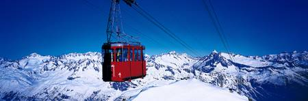 Cable Car Andermatt Switzerland