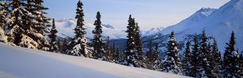 Winter Chugach Mountains AK