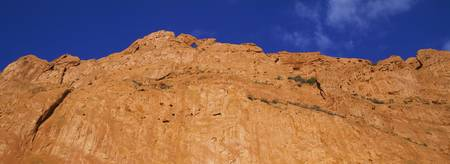 Low angle view of a cliff
