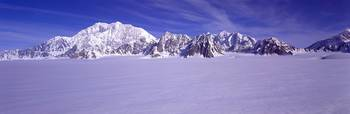 Mount Logan in Kluane Yukon Canada