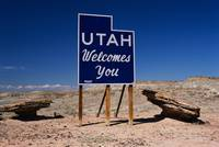 Utah Welcomes You State Sign