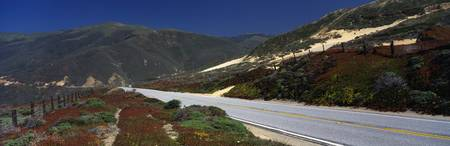 Highway One through Big Sur CA