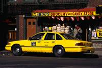 Taxi in Greenwich Village