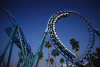 Roller Coaster at Knotts Berry Farm